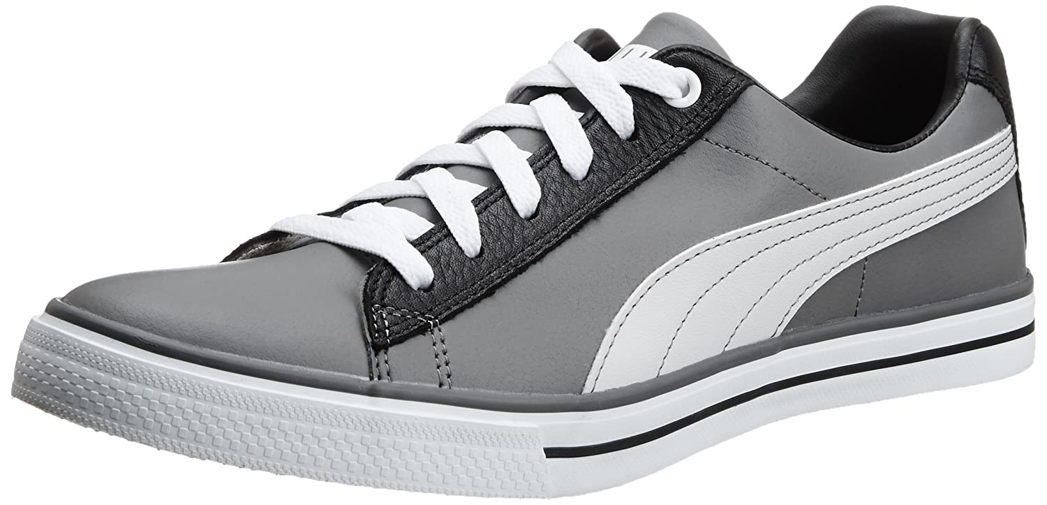 Puma Menu0027s Salz II DP Quiet Shade, Glacier Grey And Black Boat Shoes   9  UK/India (43 EU): Buy Online At Low Prices In India   Amazon.in