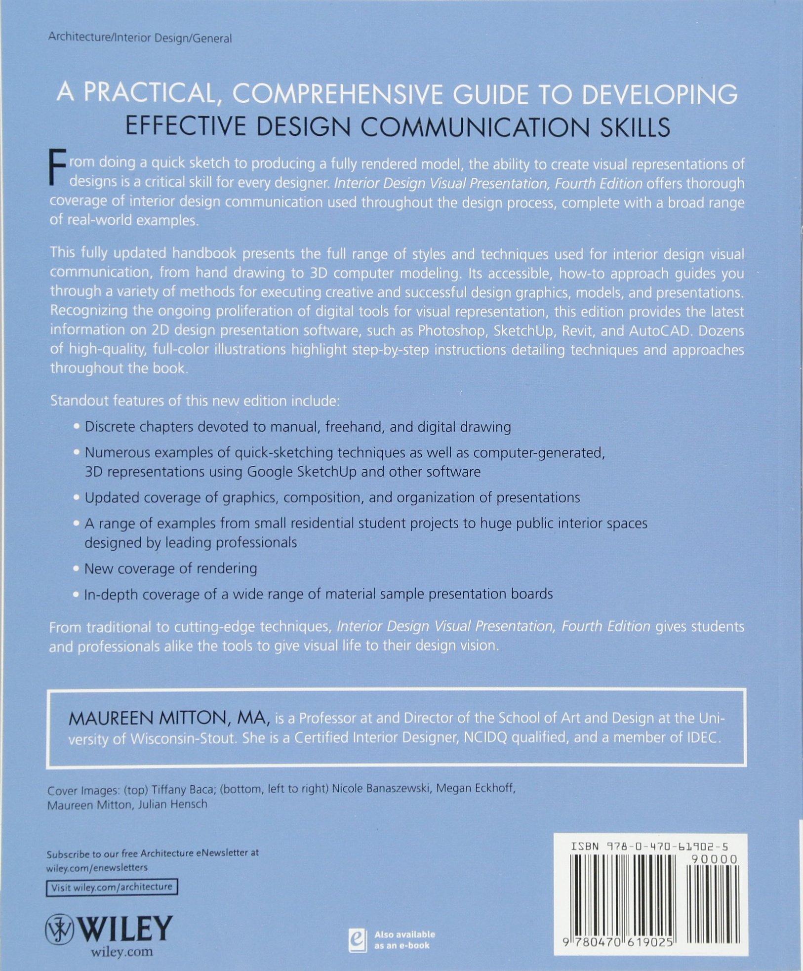Buy Interior Design Visual Presentation: A Guide to Graphics, Models ...