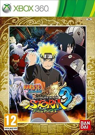 Naruto Ultimate Ninja Storm 3: Full Burst (Xbox 360) [importación inglesa]: Amazon.es: Videojuegos