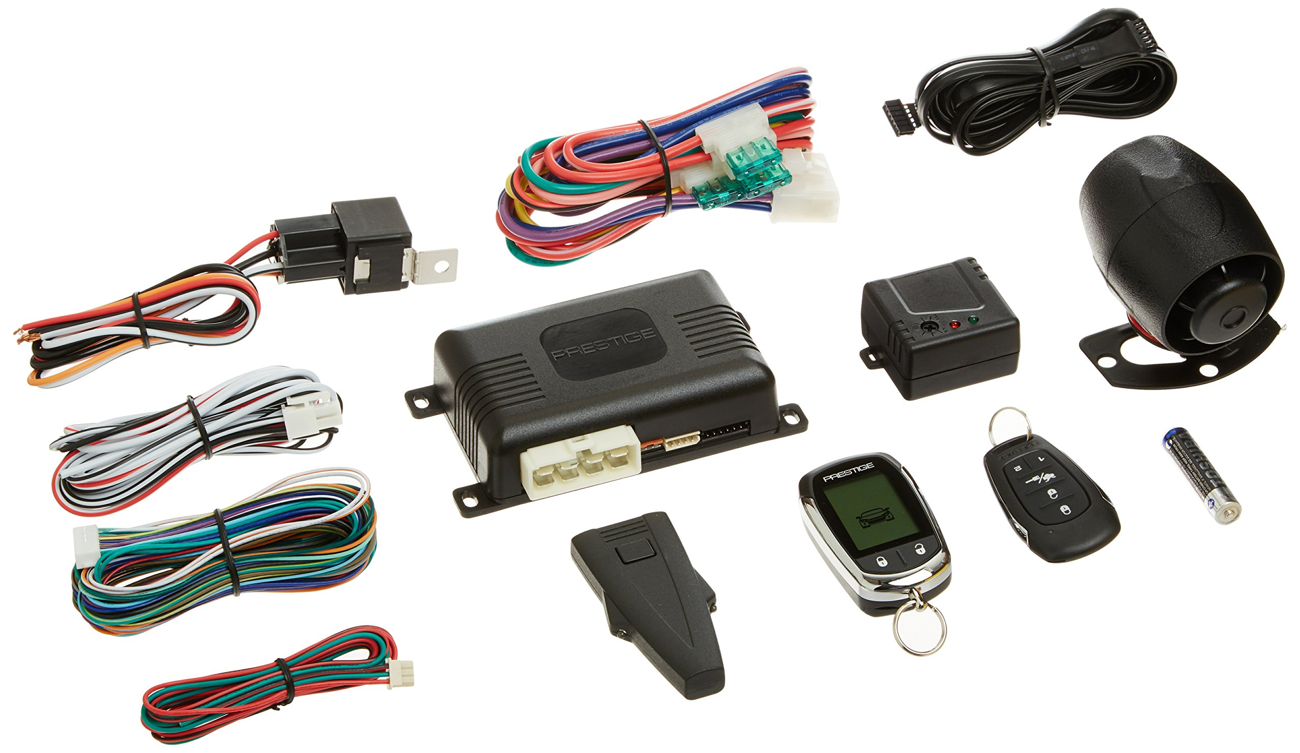 New Prestige APS997E 2-Way LCD Remote Start & Car Alarm System Replaces APS997C by Prestige