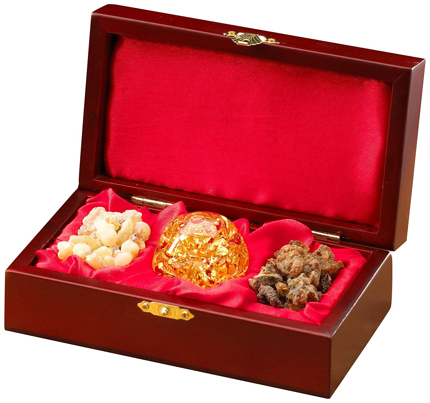 Gold Frankincense And Myrrh Gift Box