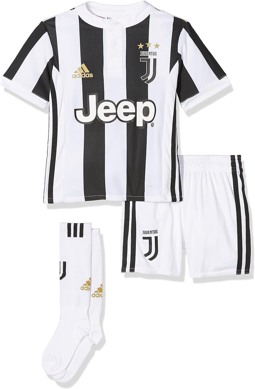 adidas Juve H Mini Conjunto Equipación Línea Juventus de Turín, Unisex Adulto