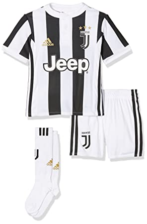 on sale 21057 cb325 adidas Enfants Juventus Turin Mini-Equipement ménager Mixte, White Black, 92