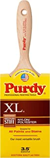 product image for Purdy 144380335 XL Series Sprig Flat Trim Paint Brush, 3-1/2 inch