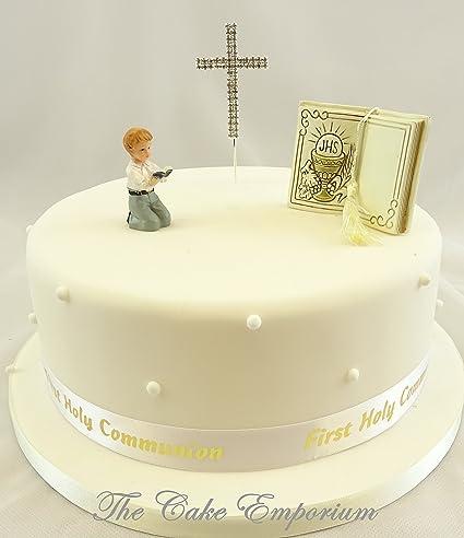 The Cake Emporium Ltd Decoration De Gateaux Premiere Communion