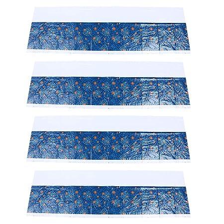 NUOBESTY mantel de tela de araña - 4 paquetes de mesa rectangular ...