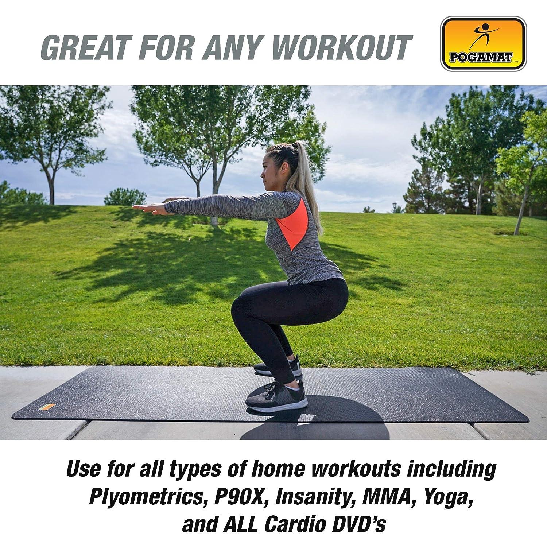 41cc3eb8b2483 Amazon.com : Pogamat Large Exercise Mat 84