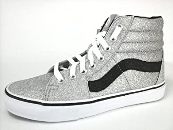1a78baf2f1 Image Unavailable. Image not available for. Colour  VANS SK8 HI SPARKLE  GLITTER SKATE ...