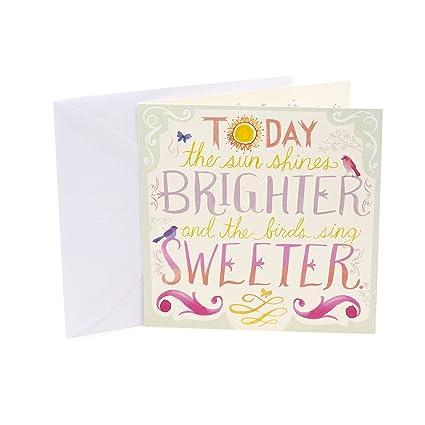 Amazon Hallmark Studio Ink Birthday Greeting Card Drunk Bird