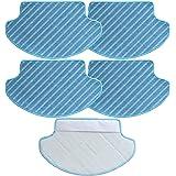 TeKeHom Paños de repuesto para aspiradora Ecovacs DEEBOT DN78 (versión de depósito de agua)
