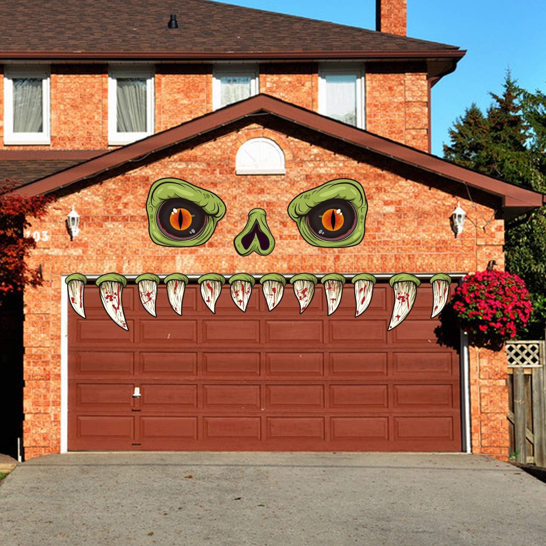 Amazon CCINEE Halloween Monster Face Outdoor Decoration