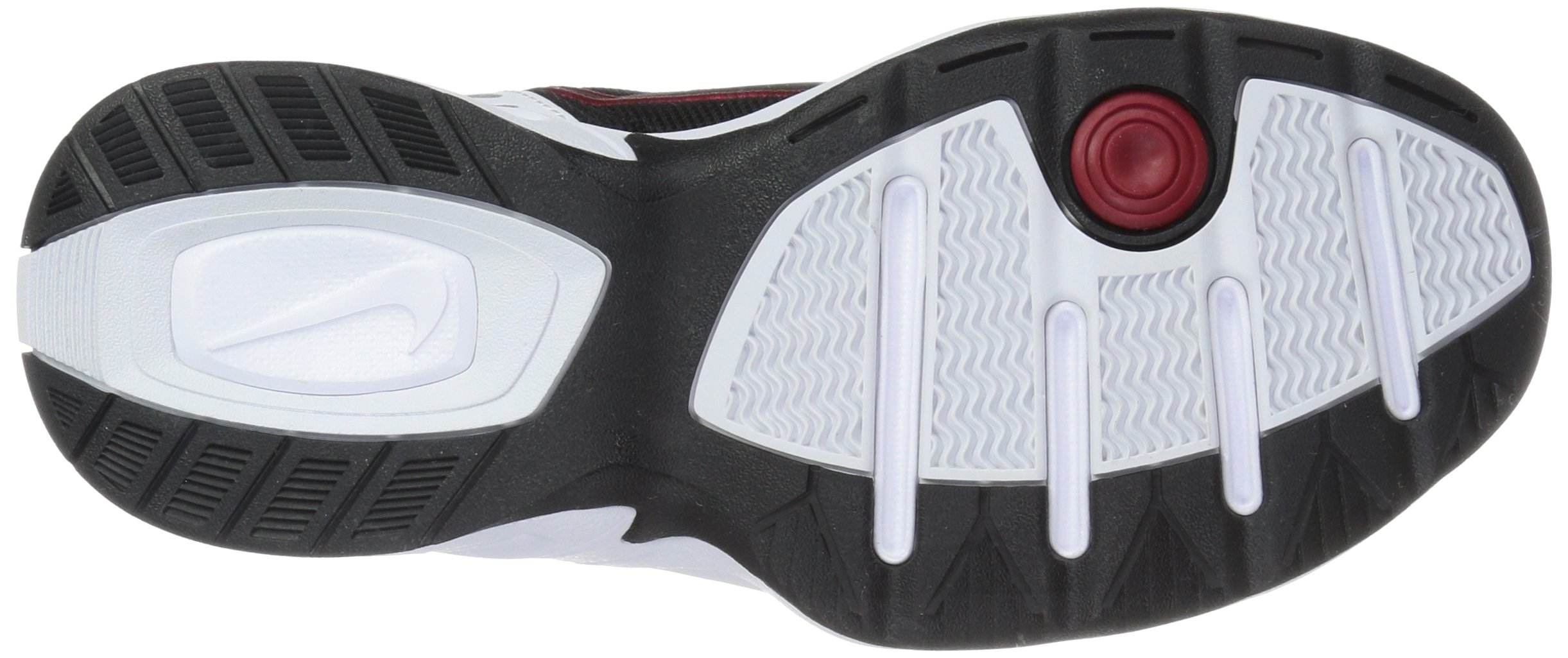 Nike Men's Air Monarch IV Cross Trainer, White/Black, 6.0 Regular US by Nike (Image #3)