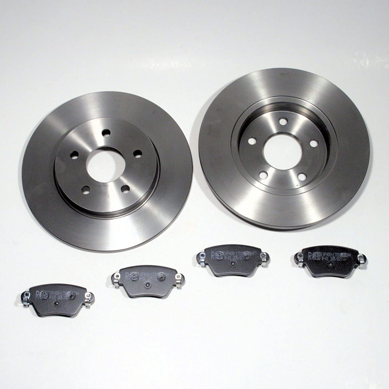 Bremsscheiben /Ø 280 mm//Bremsen Bremsbel/äge f/ür hinten