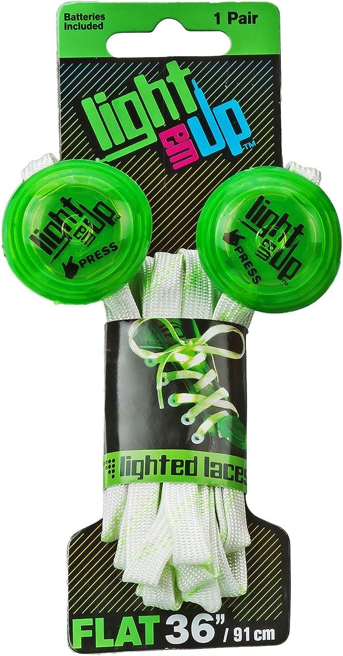 Roller Derby Kids Light em Up LED Lighted Laces Roller Derby Skate LL36G