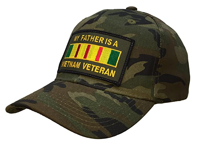 Amazon.com  My Father is a Vietnam Veteran Hat Camo Ball Cap  Clothing 0f6341047583