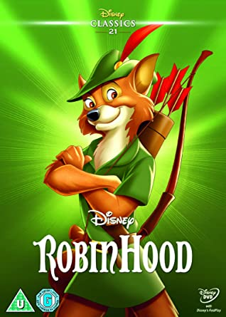 Robin Hood [DVD]: Amazon co uk: Wolfgang Reitherman, Tom Acosta