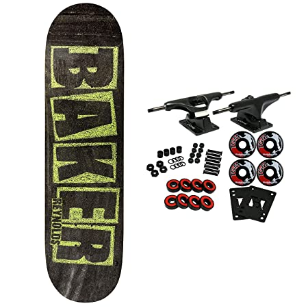 Baker Skateboard Complete Reynolds Brand Name Chalk 7.75