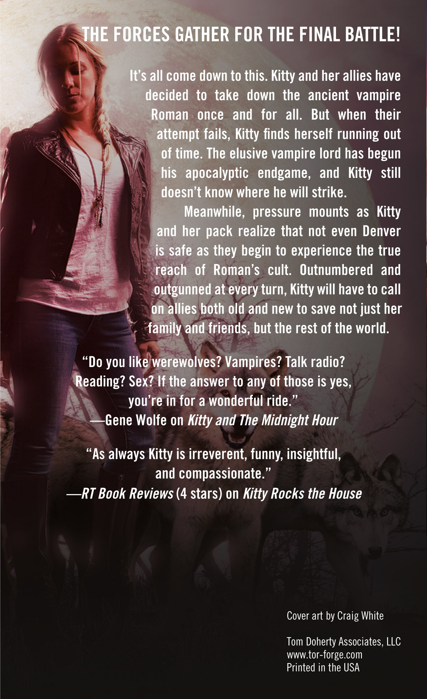 Amazon Kitty Saves The World A Norville Novel 9780765368706 Carrie Vaughn Books