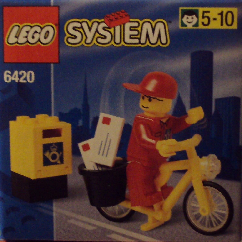 LEGO 6420 City - Cartero con Bicicleta: Amazon.es: Juguetes y juegos