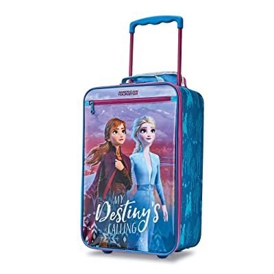 American Tourister Kids' Disney Softside Upright Luggage