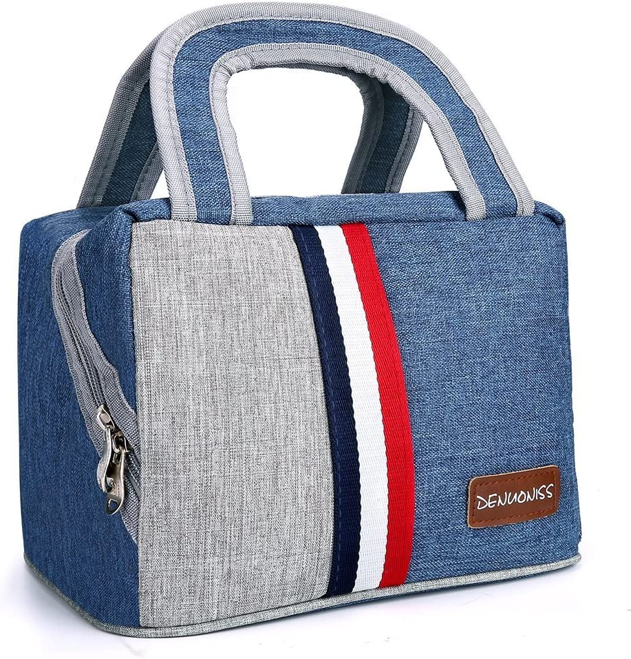 Cute Snoopy Lunch Bag Waterproof Zipper Tote Handbag Storage Bags Eco-friendly