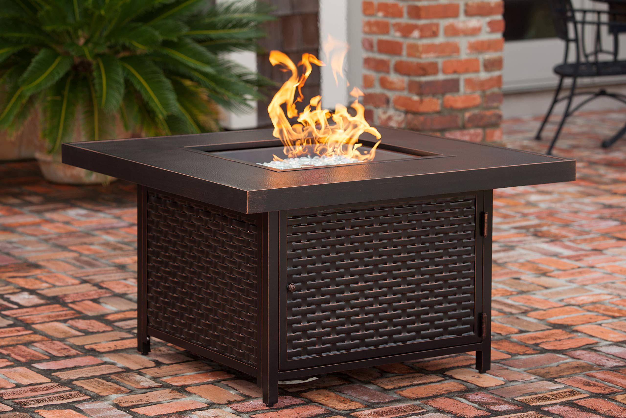 Baker Cast Aluminum LPG Fire Pit Table by Fire Sense