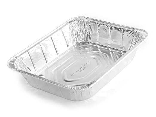 Simply Deliver Aluminum Steam Table Pan, Half-Size, Deep, 45 Gauge, 80-Count