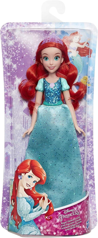 Disney Princess - Disney Princess Brillo Real Ariel (Hasbro E4156ES2) , color/modelo surtido