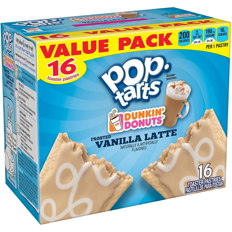 Amazon.com: Pop-Tarts Dunkin Donuts Toaster Pastries ...