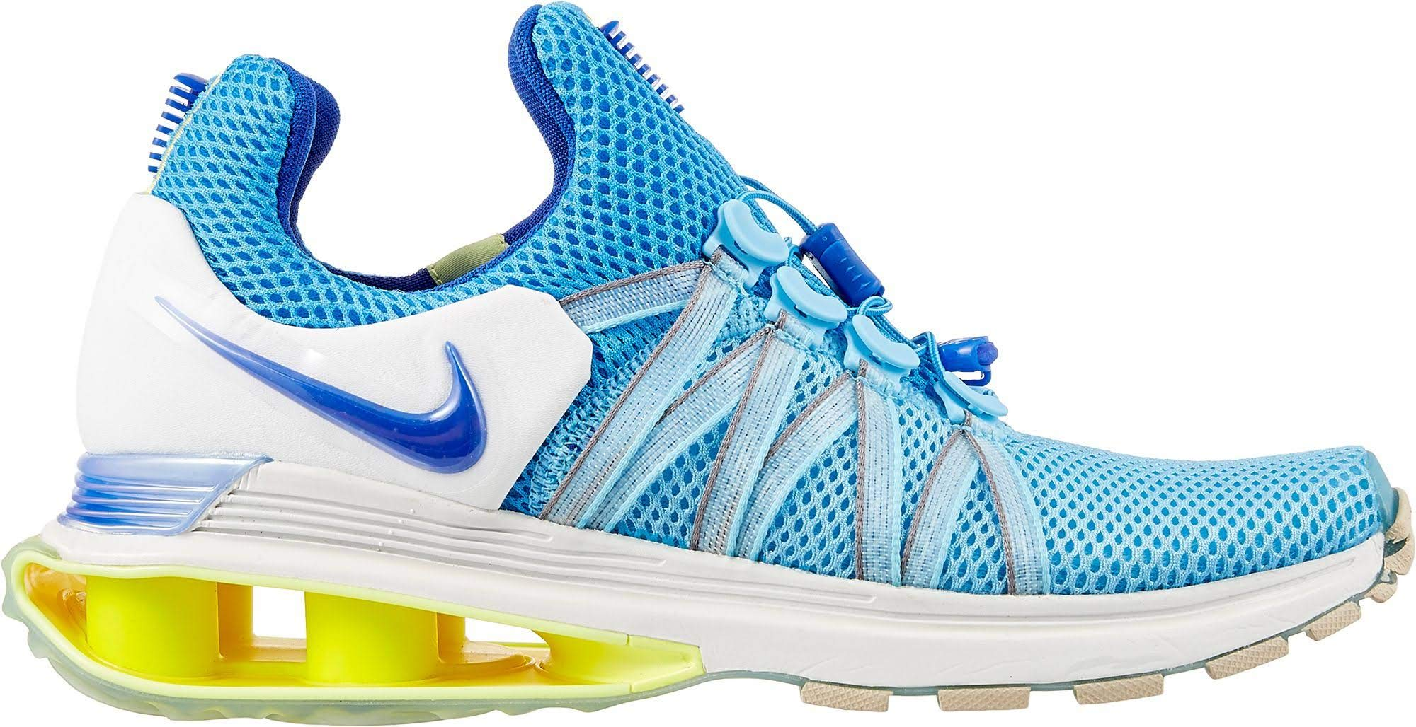 Nike Women's Shox Gravity Racer Blue Lagoon Running Training Shoes (6.5 B(M) US)