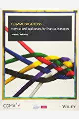 Communications: Methods and Applications for Financial Managers Paperback
