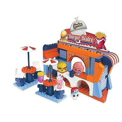 The Bridge Direct Shopkins Kinstructions - Burger Bistro Building Kit: Toys & Games