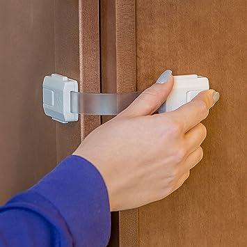 Refrigerator Lock U Shape Lock Safety Lock Child Safety Lock Baby Drawer Lock