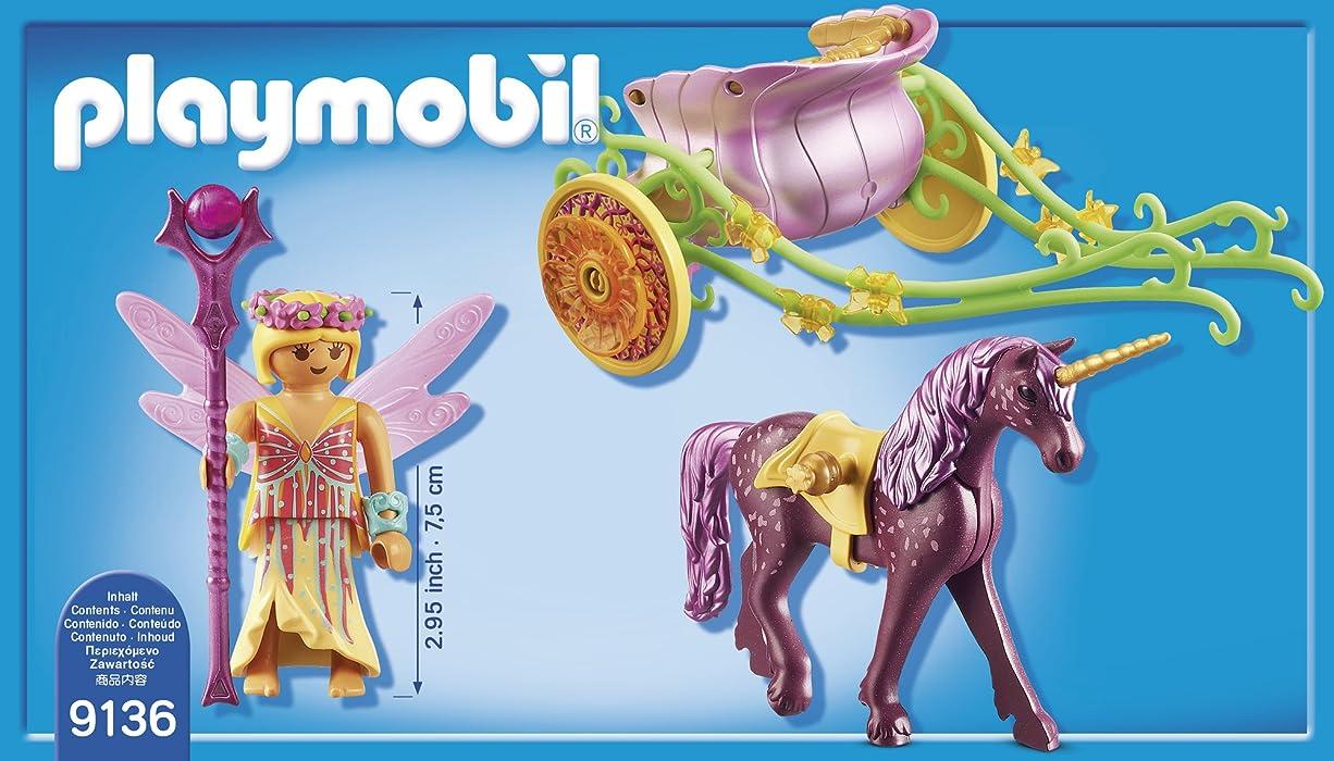 Playmobil 9136 Fairies Unicorn-Drawn Fairy Carriage
