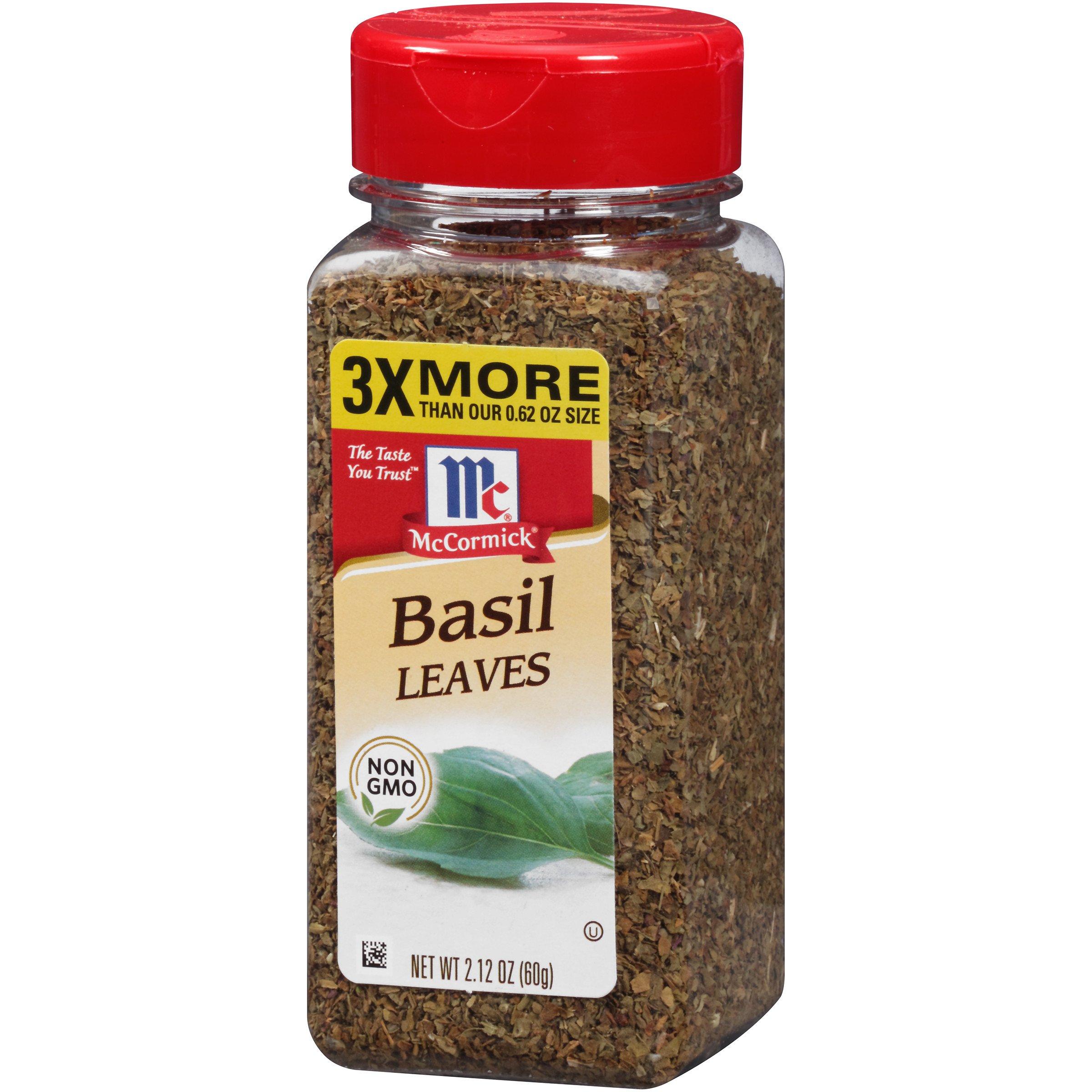 McCormick Basil Leaves, 2.12 oz