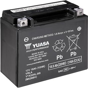Yuasa YUAM620BH YTX20HL-BS Battery