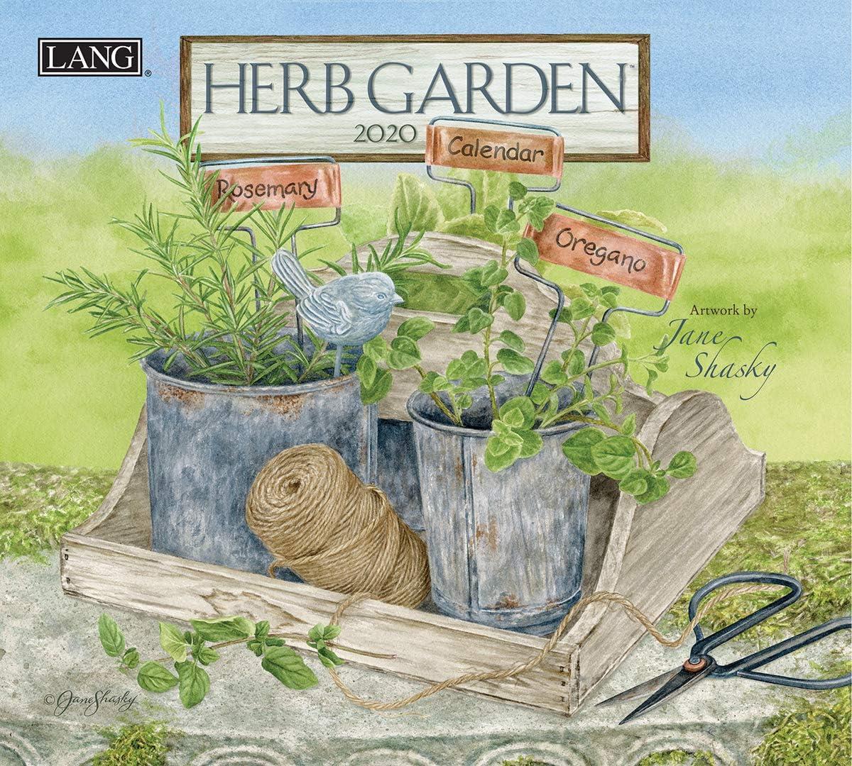 Lang Herb Garden 2020 Wall Calendar (20991001914)