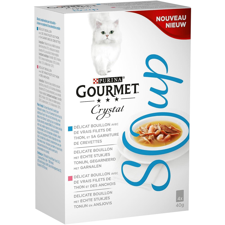 Gourmet Crystal Soup Recetas AU Thon - 4 x 40g - sopas en Bolsas ...