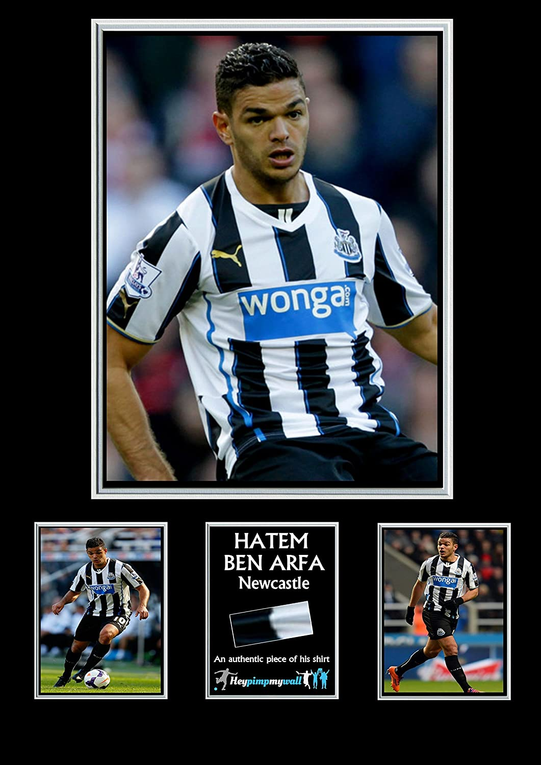 promo code 3bb69 3c609 Hatem Ben Arfa Newcastle shirt Piece Display: Amazon.ca ...