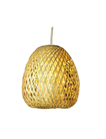 Artesanía Jacinto Luque - Lampara colgante de bambu/lampara ...