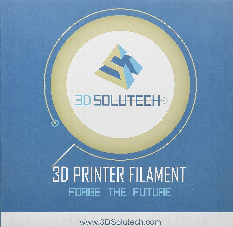 3D Solutech Teal Blue 3D Printer PLA Filament 1.75MM Filament 1.0KG 2.2 LBS Dimensional Accuracy +//- 0.03 mm