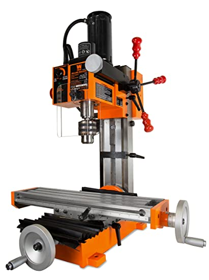 Used Milling Machines Power Tools Tools Home Amazon Com >> Wen 33013 4 5a Variable Speed Single Phase Compact Benchtop Milling Machine With R8 Taper
