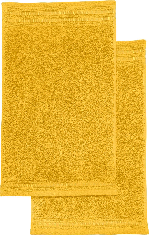 Erwin Müller 2-pack guest towels Neresheim blue size 30x50 cm