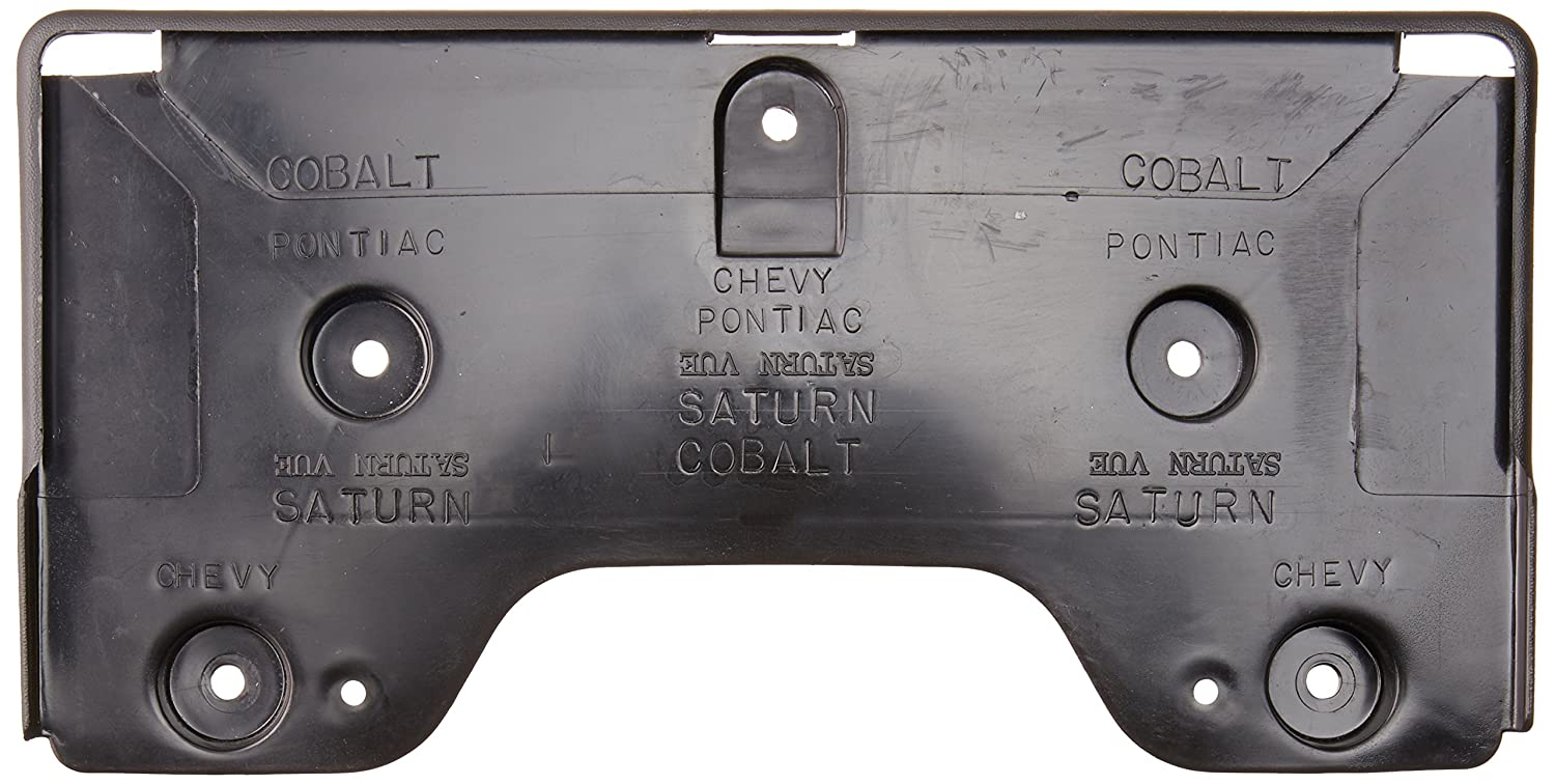 GM Genuine 15253233 License Plate Bracket Front