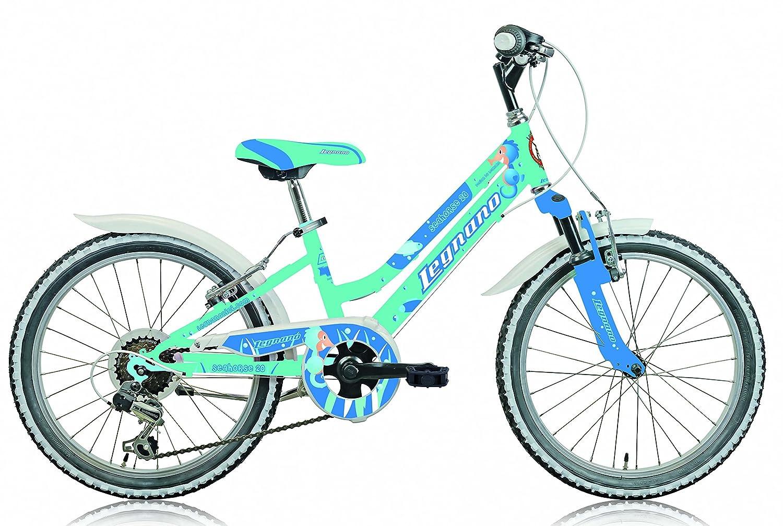 Legnano 20 Zoll Mädchen Fahrrad Seahorse 6 Gang, Farbe:Aquamarin ...