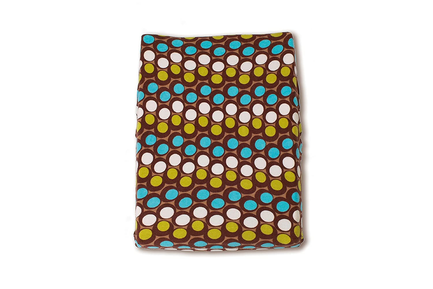 Baby Boum Terry Changing Mat Cover with Abstract Spotty Design (Cacao, Sisko Collection) Little Helper 300SISKO80