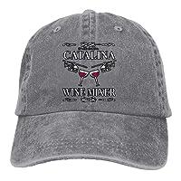 Good Pillow Cases Unisex Fucking Catalina Wine Mixer Dancing Dad Cap Adjustable Hat for Outdoor Baseball Cap
