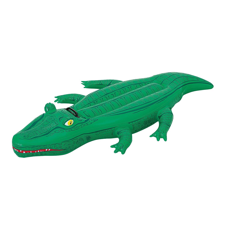 Crocodile Rider Inflatable Pool Float: Toys U0026 Games