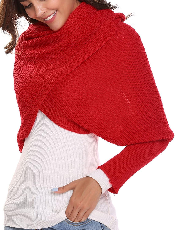 Women Crochet Knit Blanket...