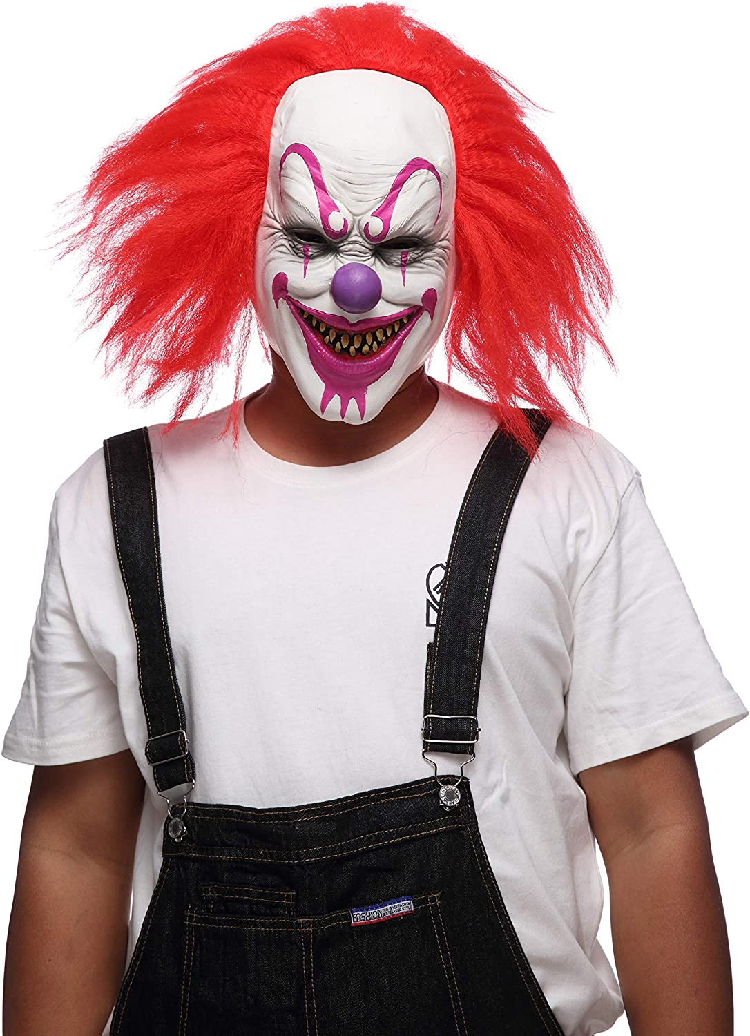 Childrens Halloween Killer Clown Latex Face Mask INCLUDES FACE MASK ONLY